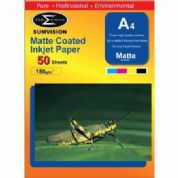 Sumvision Matte A4 Inkjet Photo Paper 180gsm - 50 Sheets
